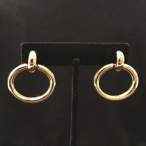 Monet Gold Earrings